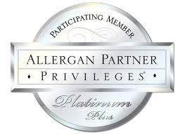 We are proud to be elevated to Participating Member Allergan Partner Privileges Platinum Plus Status.
